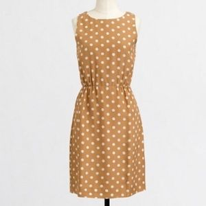 NWT J Crew Printed Polka Dot Sundress Fit & Flare